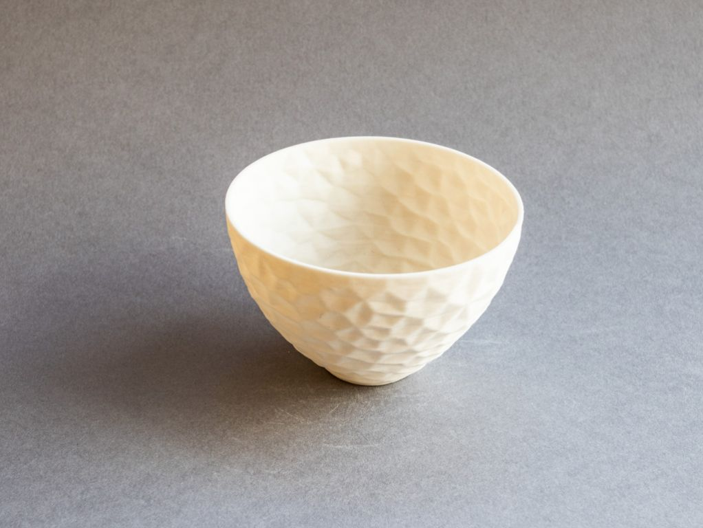 gem bowl, porcelain