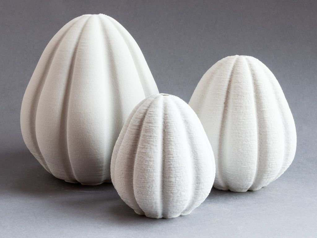 Porcelain quince forms